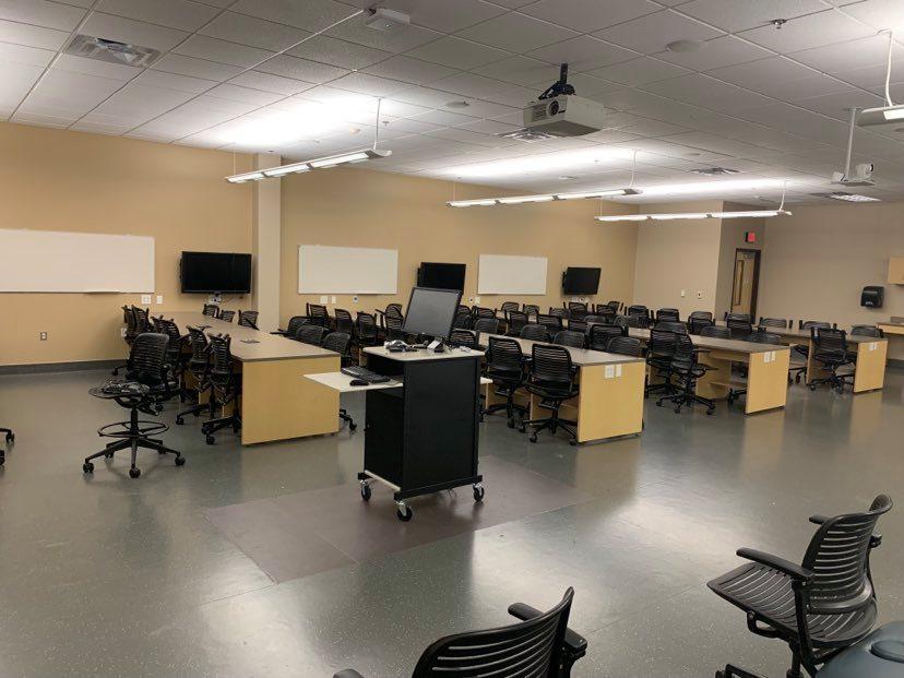 Ristrutturazione centro prove e laboratorio di fisioterapia