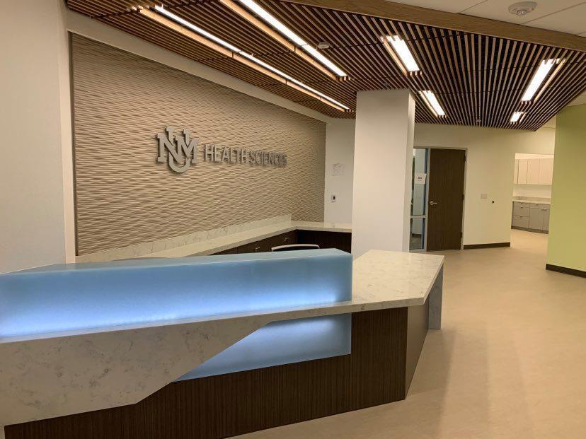 reception rinnovata area reception