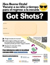 Spanish Got Shots Poster