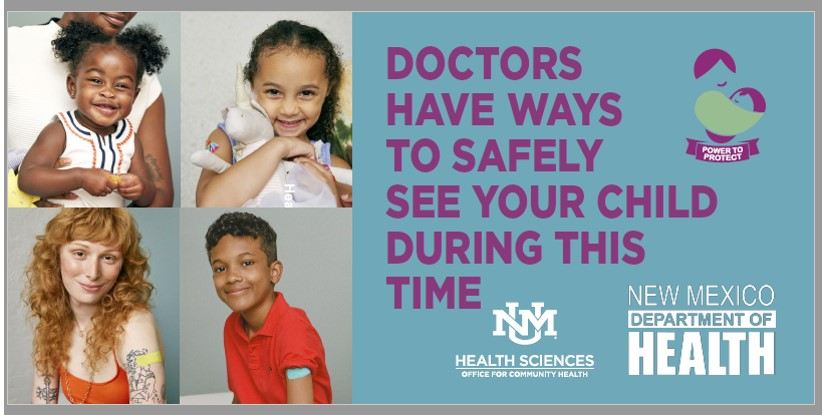 Los médicos tienen formas seguras de ver a su hijo