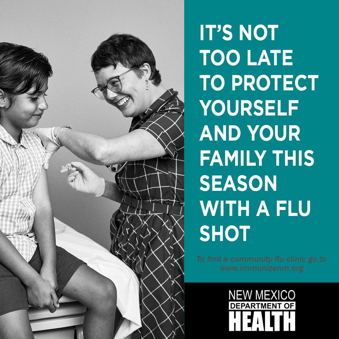 No es demasiado tarde para la vacuna contra la gripe