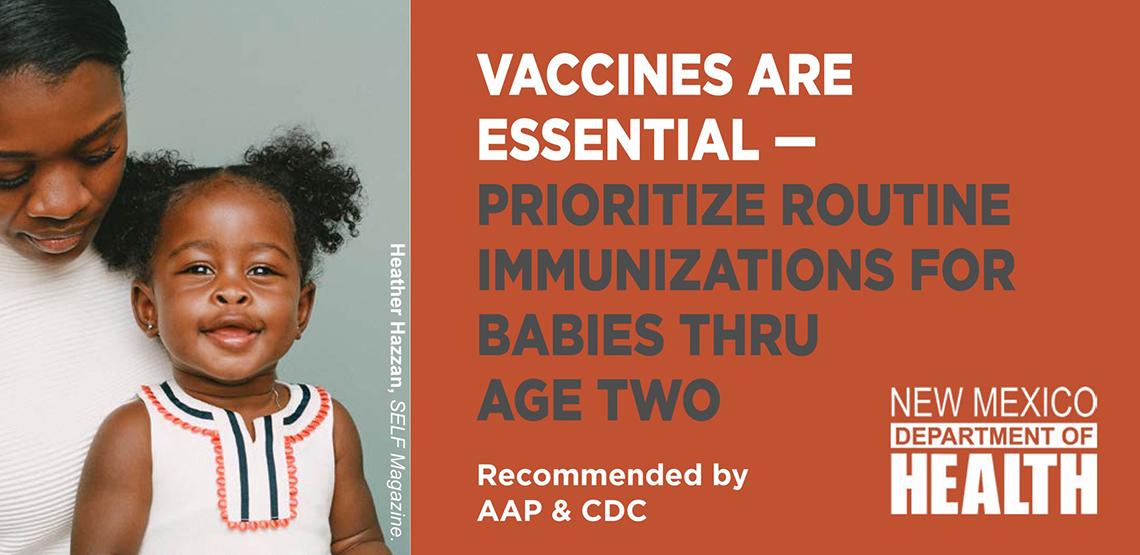 Las vacunas son imprescindibles