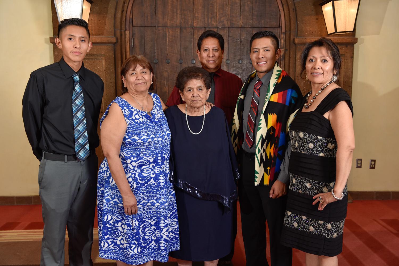 Garrett Martinez y familia