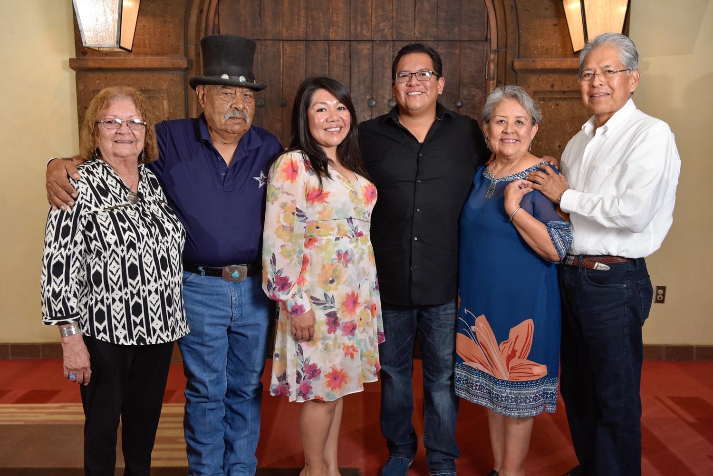 Lindsay Sarracino y familia