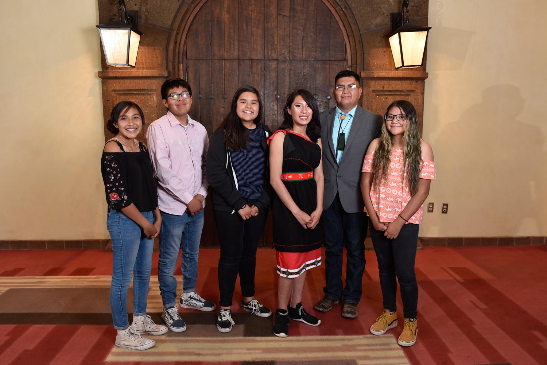 Grupo de clase de idioma NACA Zuni.