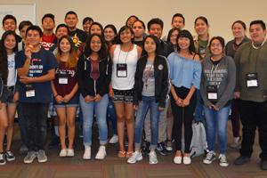 Grupo de estudiantes de SPA.