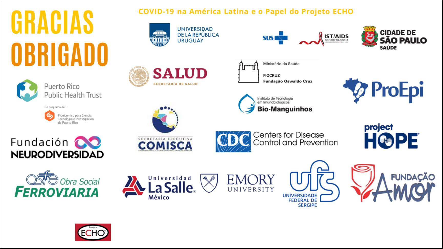 covid-19 na america latina eo papel do projeto echo