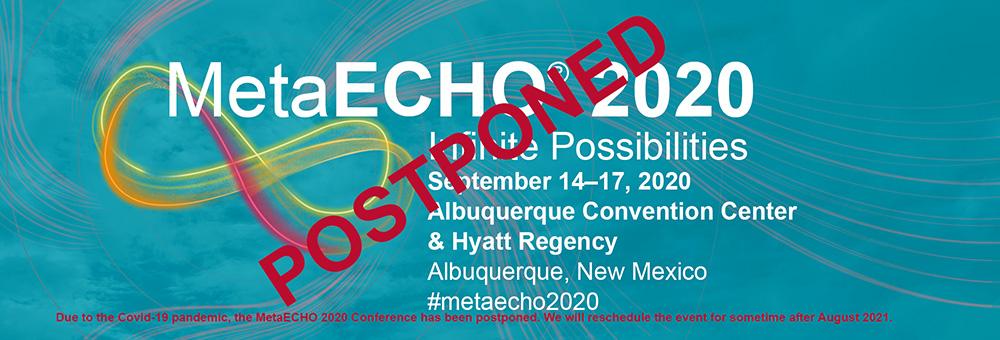 Imagen de postal de MetaECHO: Pospuesta