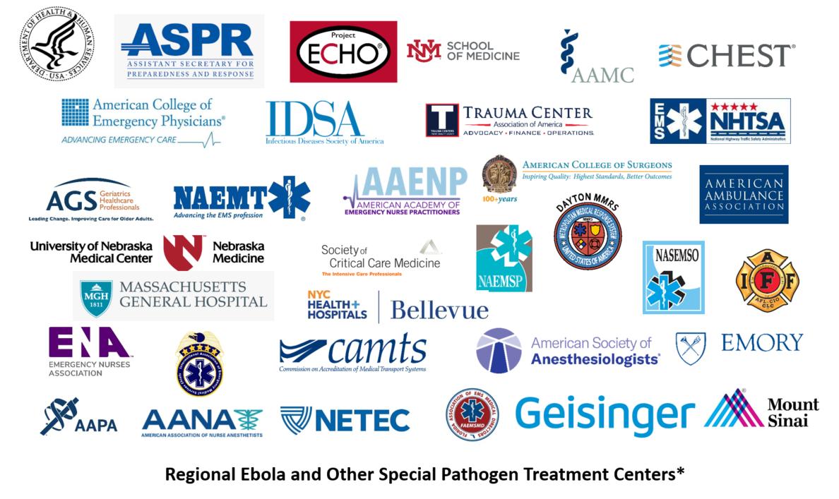 HHS/ASPR Project ECHO Logo