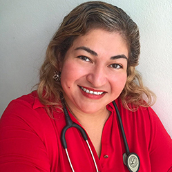 Photo de Elsy Benitez-Vargas, RN