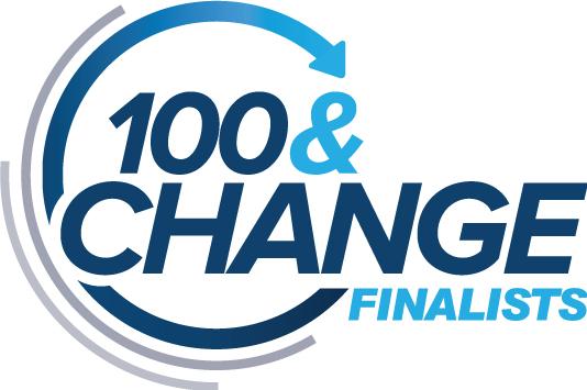 Logotipo de MacArthur 100 & Change Finalists