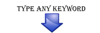 Escriba cualquier palabra clave aquí