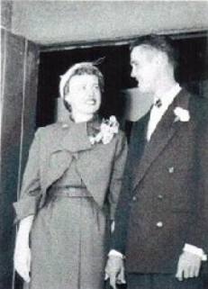 ゴードンの結婚式の写真。