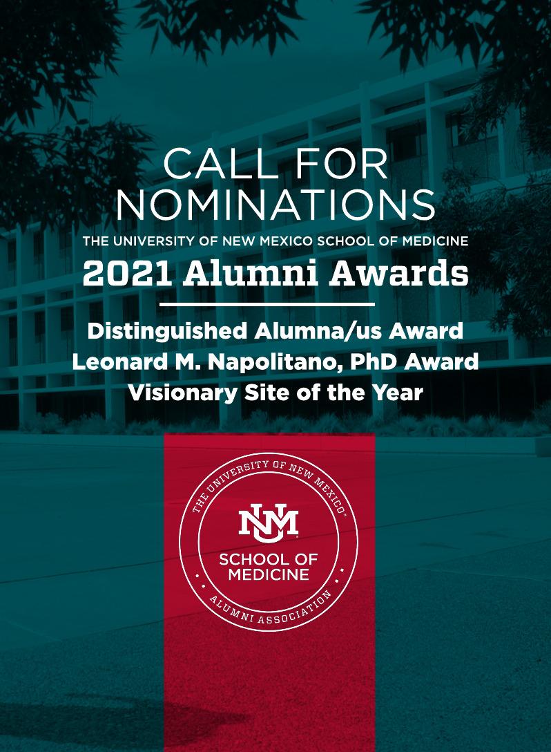 Bando per la nomination per i premi degli alumni 2021