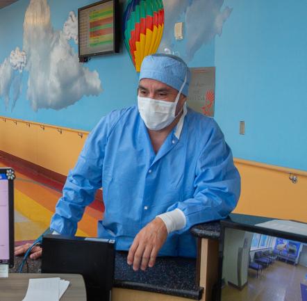 Servicio de Anestesiología en Pediatría.