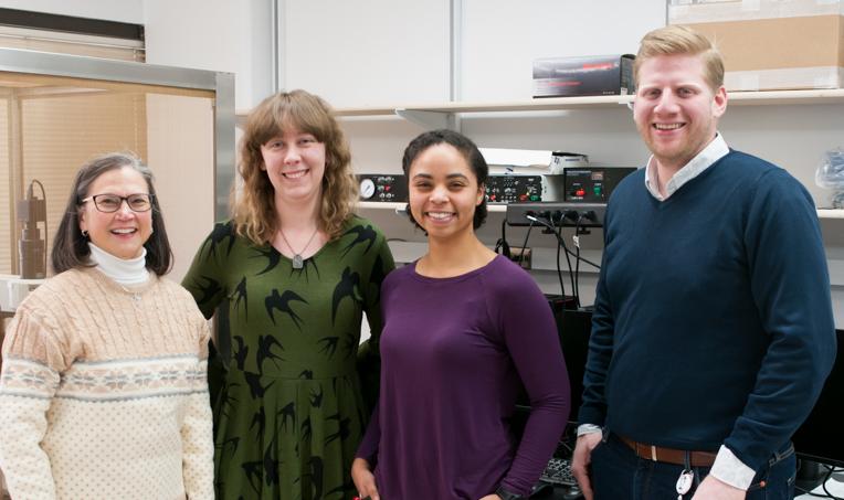 Foto de grupo del equipo de investigación.