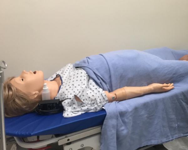Paciente de simulación.