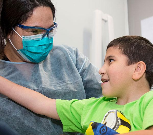 Parche de brazo del Departamento de Medicina Dental de la UNM.