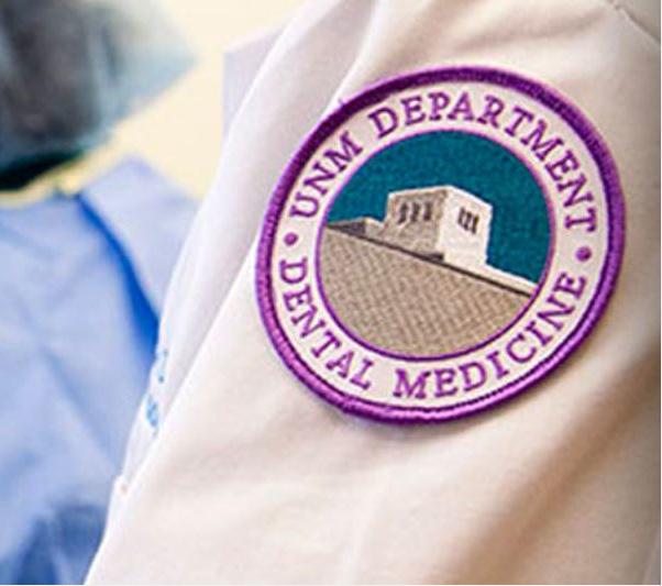 Parche de brazo del Departamento de Medicina Dental.