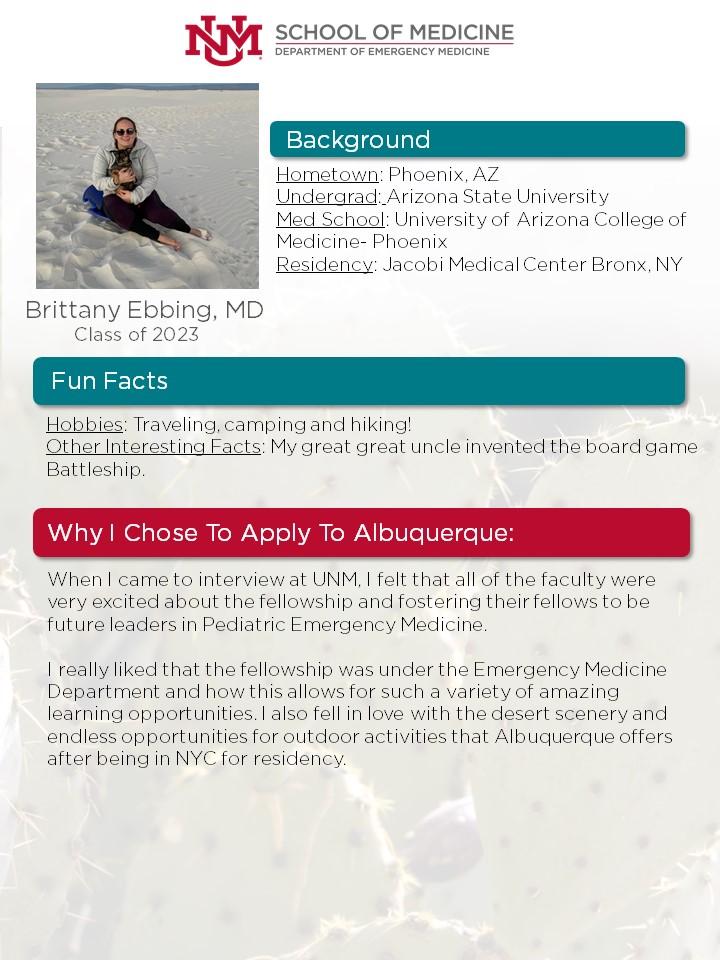 Biografía de Brittany Ebbing