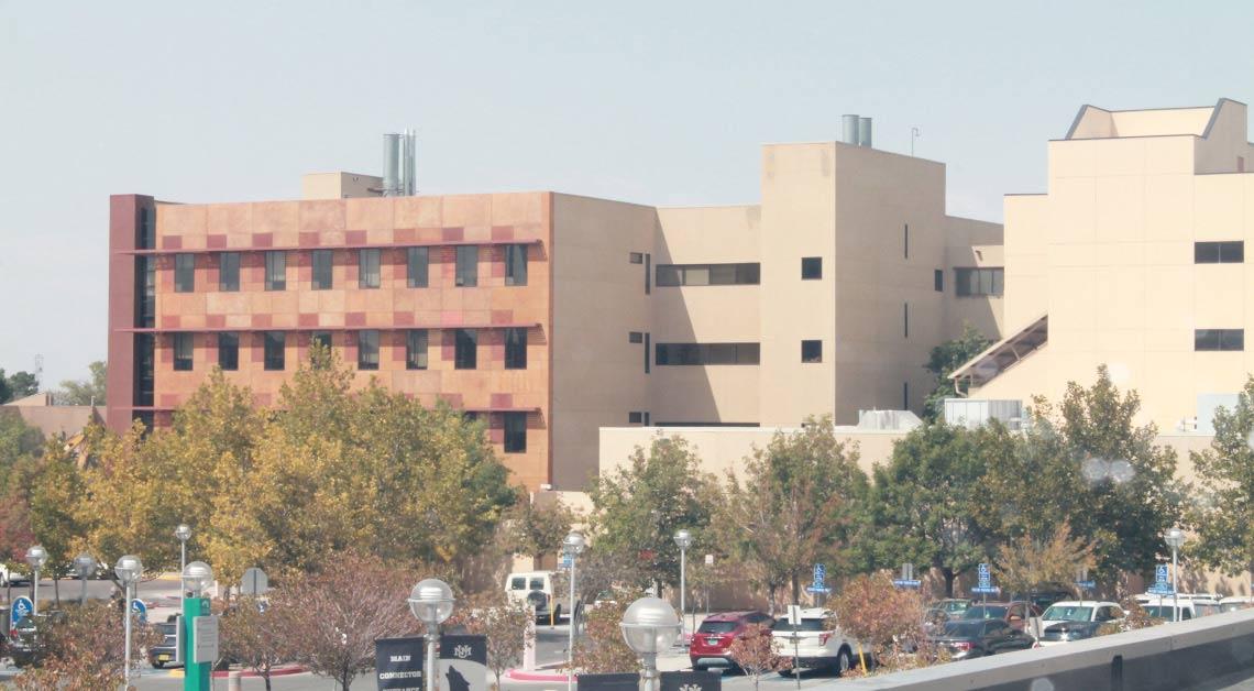 Edifício do campus.