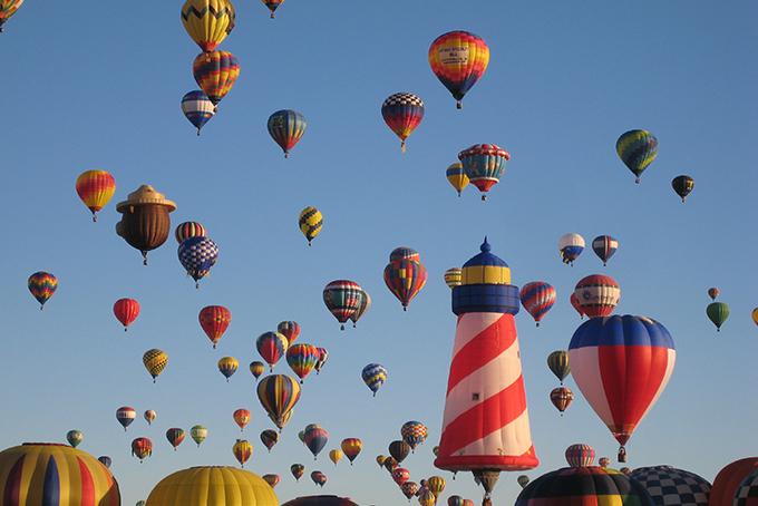 Fiesta de globos, Albuquerque, NM