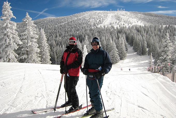 Esquiar en Santa Fe, NM