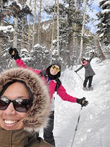 Thariath skiing