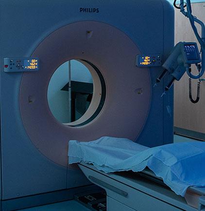 escáner médico