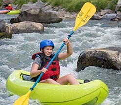 Kayak por el río