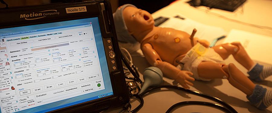 laboratorio de simulación infantil