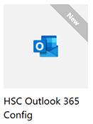HSC Outlook կազմաձևման օգտակար ծրագրի պատկերը