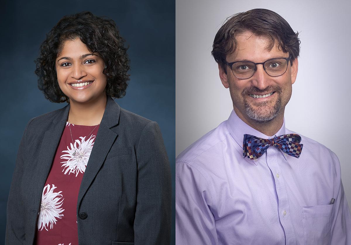 Drs. Meeta y Aaron Cardon