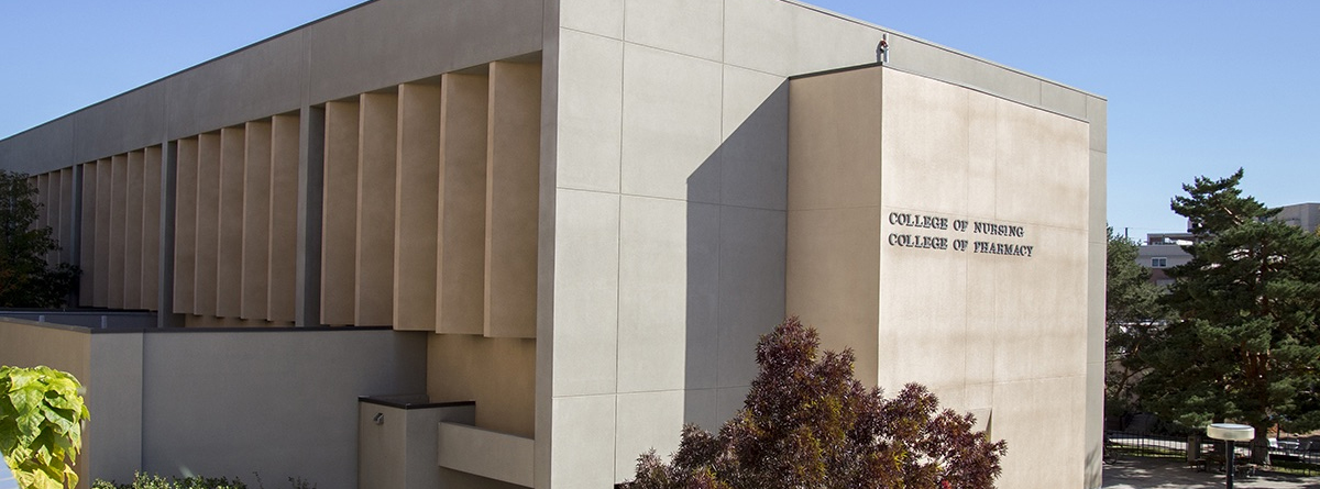 Edificio de la Facultad de Enfermería