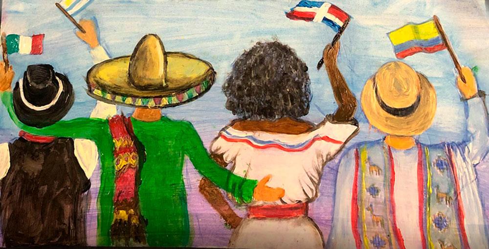 Arte para el Mes de la Herencia Hispana