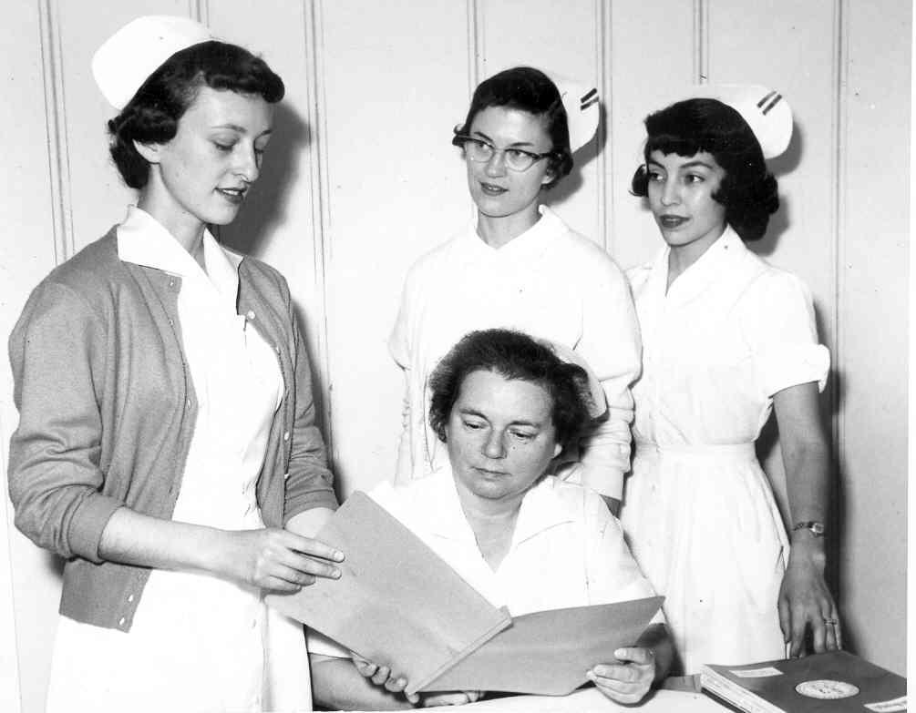 סטודנטים לאחיות בשנת 1959