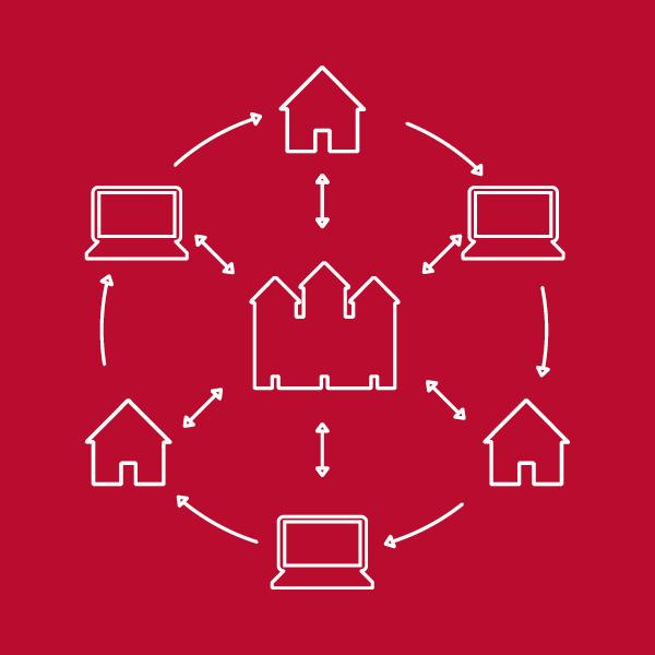 Diagrama de hub e raio