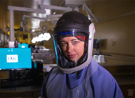 Heather Jarrell in PSA