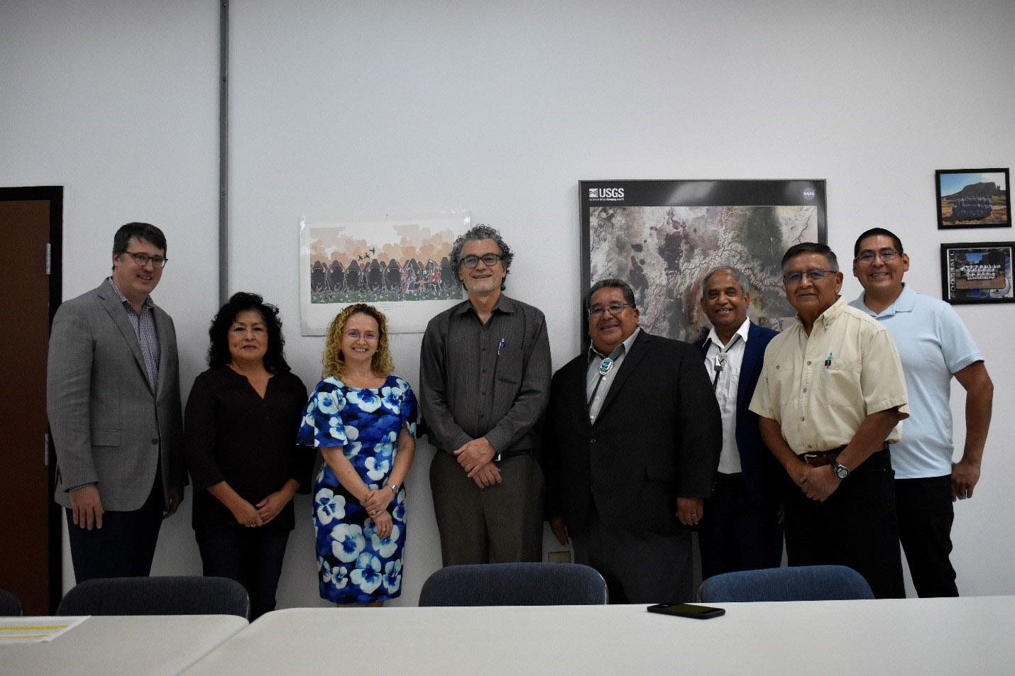 Eliseo J. Pérez-Stable, MD, Director del NIMHD, Visita con Zuni Pueblo (septiembre de 2019)