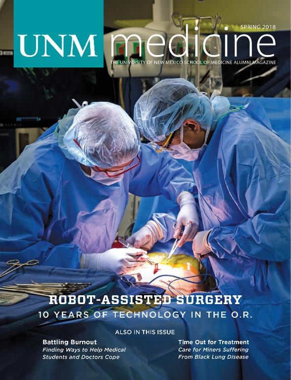 Portada de UNM Medicine Spring 2018