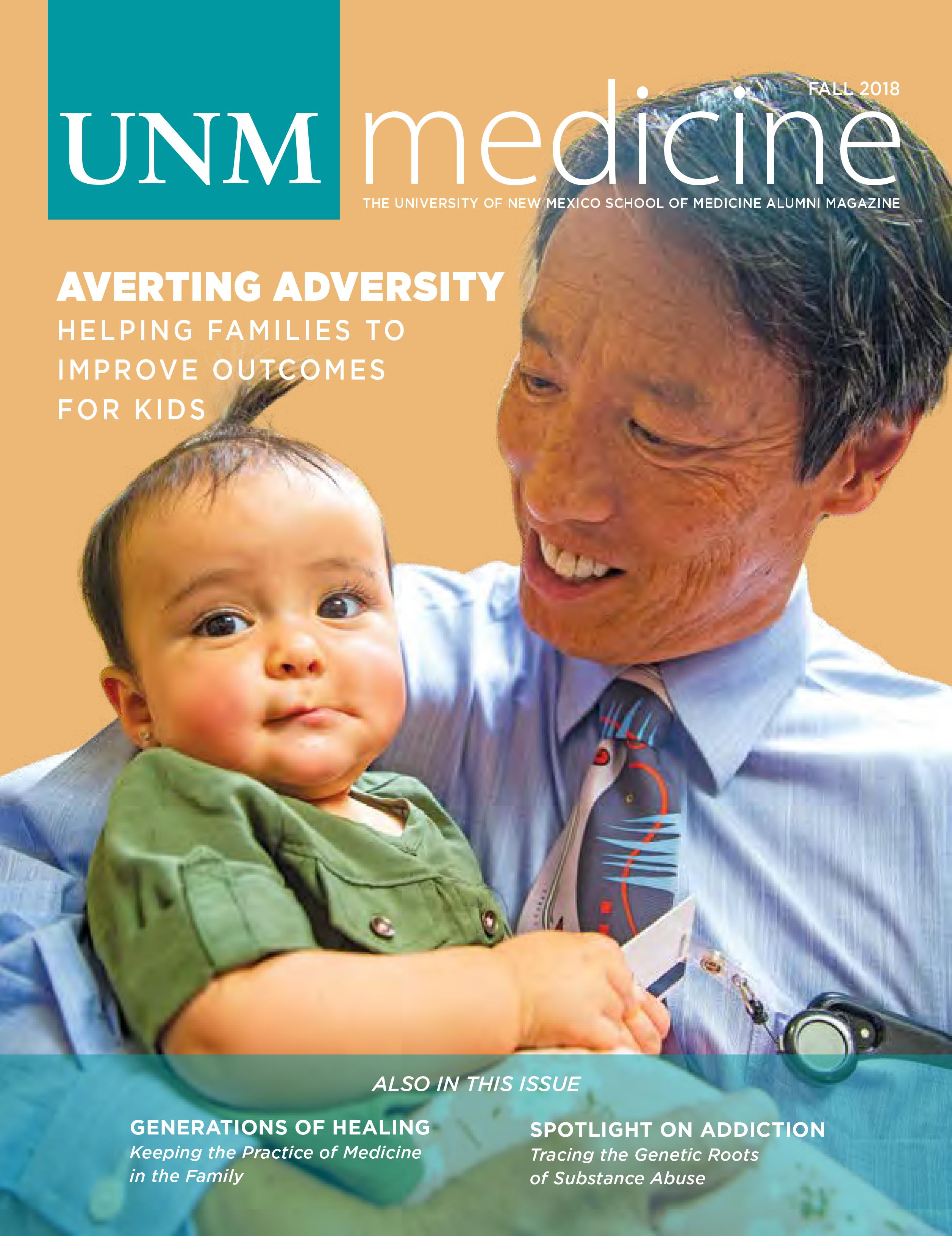 Portada de UNM Medicine Otoño 2018